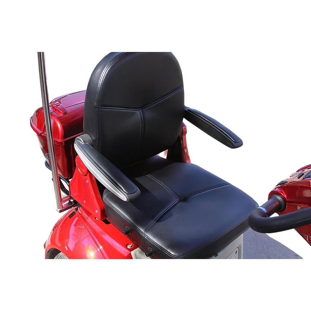 EWheels EW-54 mobility scooter - Seat with armrest