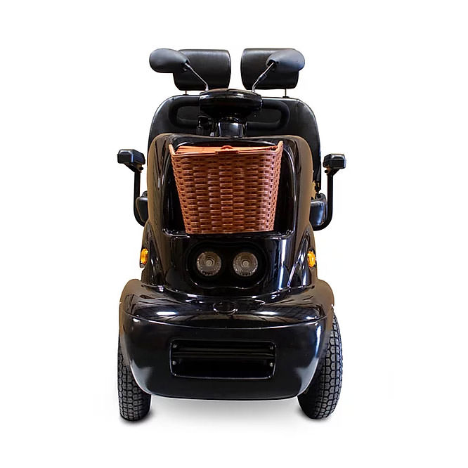 EWheels EW-88 four wheel scooter with front basket