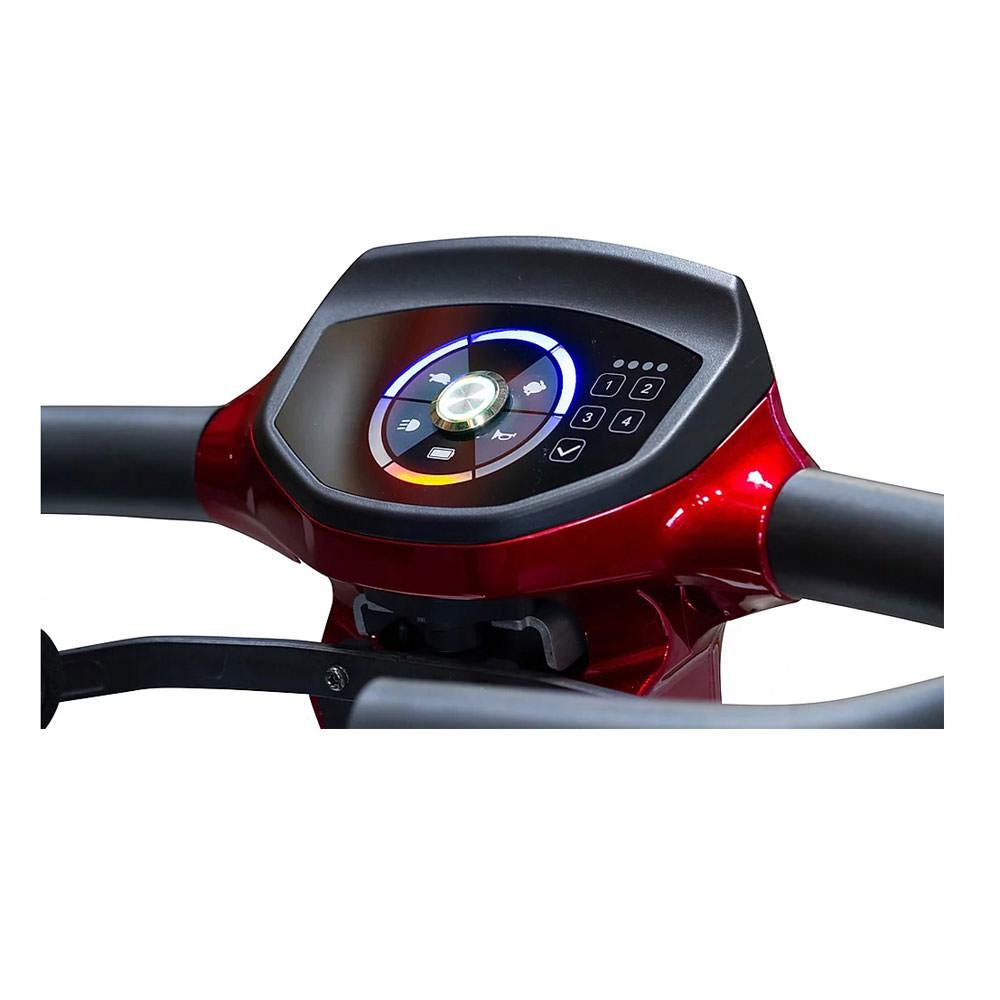 EWheels REMO 4-wheel scooter - Delta tiller
