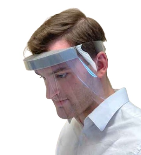 Exercore Transparent Adjustable Face Shield