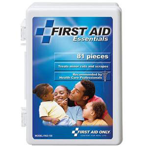 First Aid Only All-Purpose First Aid Kit, 81 Pieces