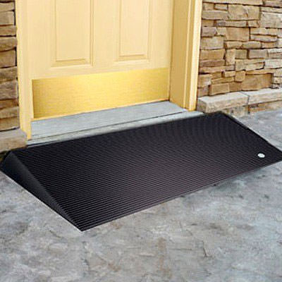 Transitions angled entry mat - Black