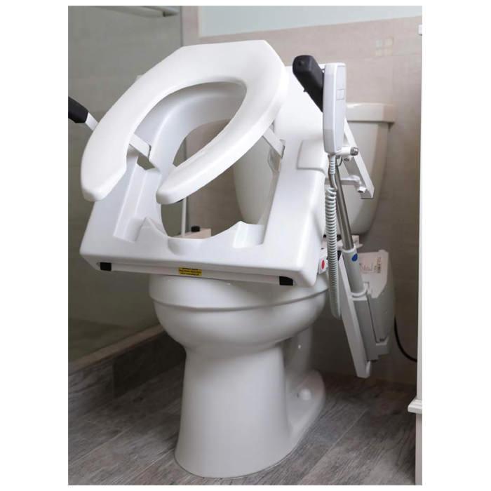 Tilt toilet incline lift - Battery powered
