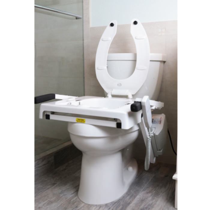 Toilet incline lift