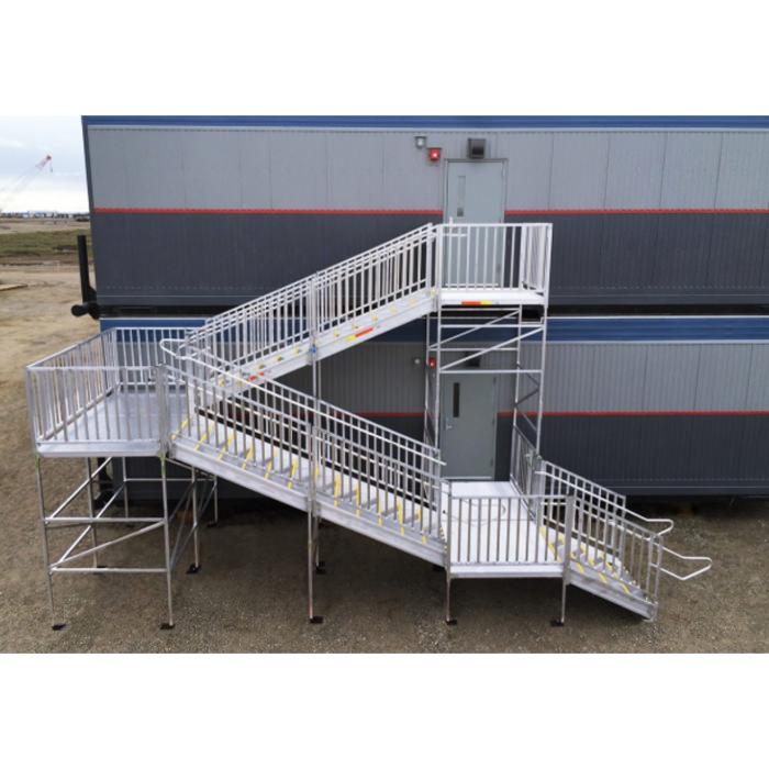 Titan aluminum modular access system