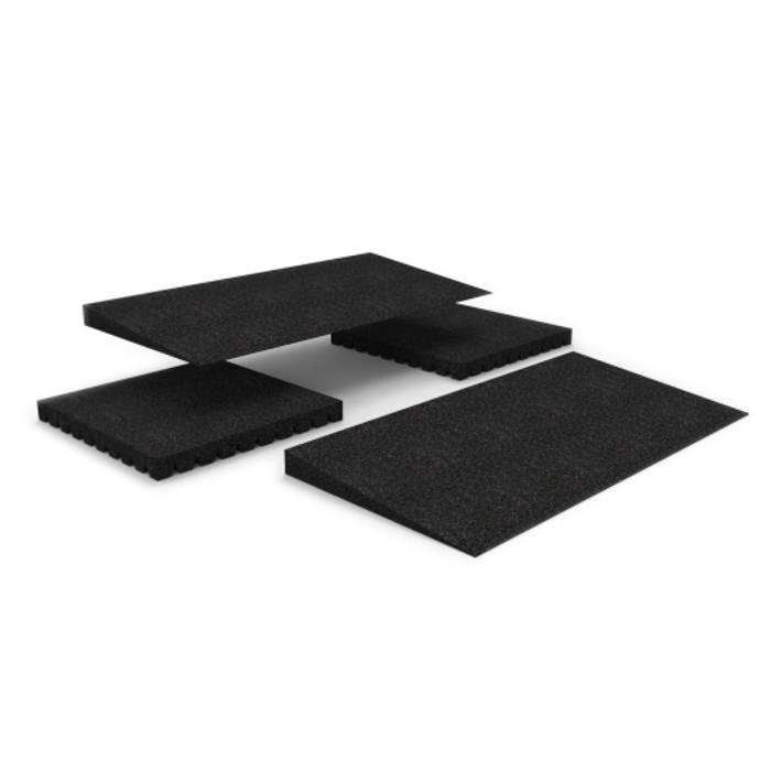 Modular entry mat - Two ramps with two risers