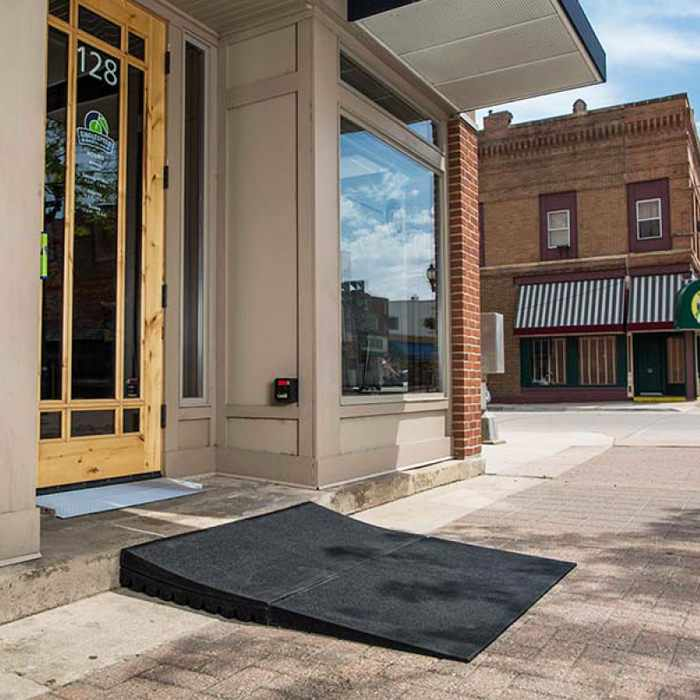 Modular entry mat for indoor & outdoor use