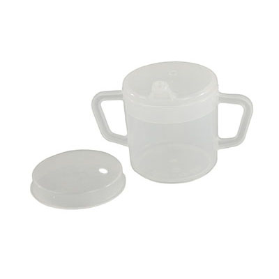 FabLife Independence 2-handled mug, 8 oz., with 2 lids