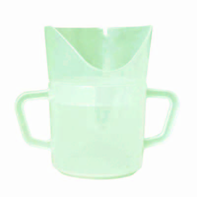 """FabLife Nosey 2-handled cup, 3"""" x 4"""" x 3"""", 8 oz."""