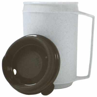 FabLife Insulated mug, no-spill lid, 12 oz.
