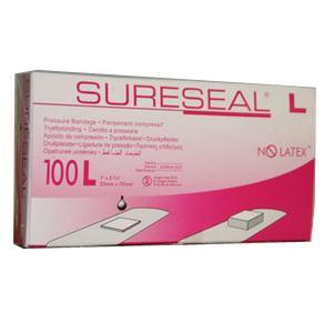 """Facet sureseal pressure adhesive bandage 1""""x 2-3/4"""" large"""