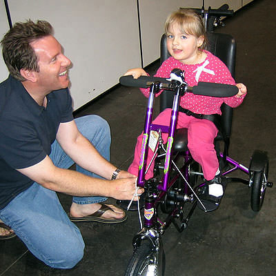 Freedom Concepts Discovery DCP 12 Adaptive tricycle
