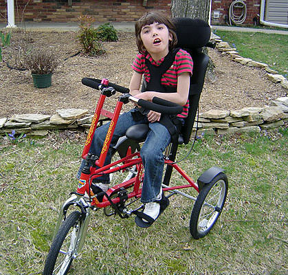 Freedom Concepts Discovery DCP 16 Adaptive Tricycle