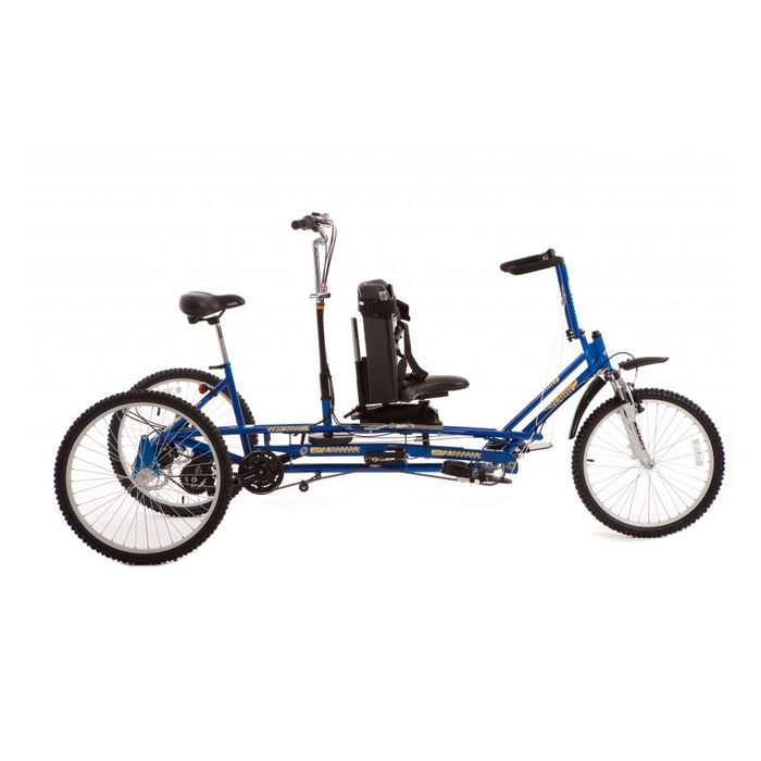Freedom Concepts ET 2611 tandem adaptive tricycle