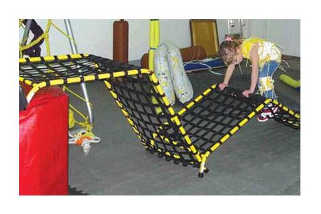 Freedom climber adaptive climbing wall