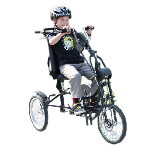 Upright handcycle by Freedom concepts