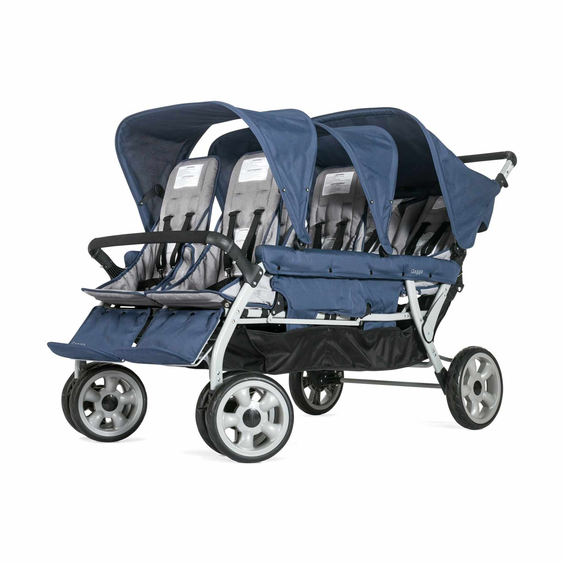 Foundations Gaggle Jamboree 6-Passenger Stroller