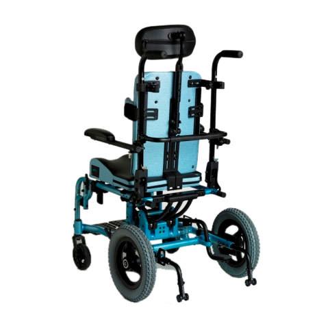 Freedom Designs CGX wheelchair back view