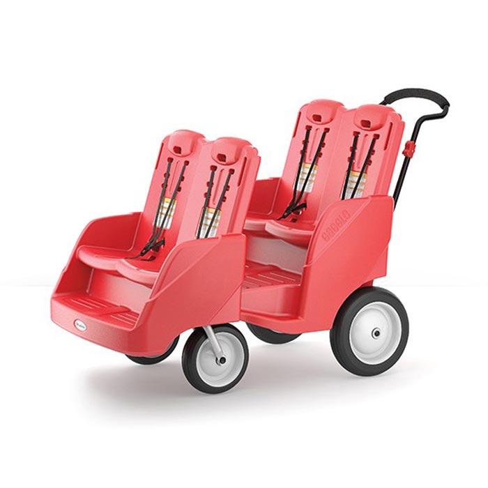 Foundations Gaggle 4-Passenger buggy stroller