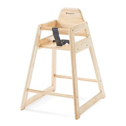 Foundations NeatSeat Hardwood high chair