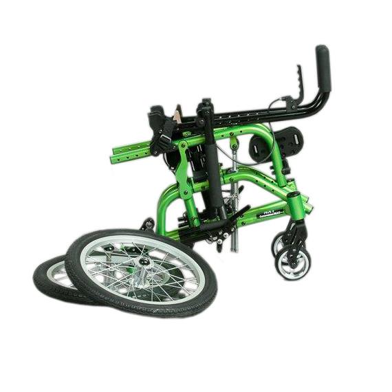 Freedom Designs NXT wheelchair folded