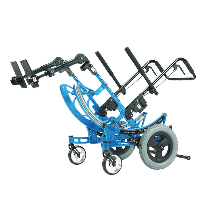 P.R.O. CG manual wheelchair frame tilted