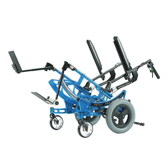 P.R.O. CG wheelchair tilted