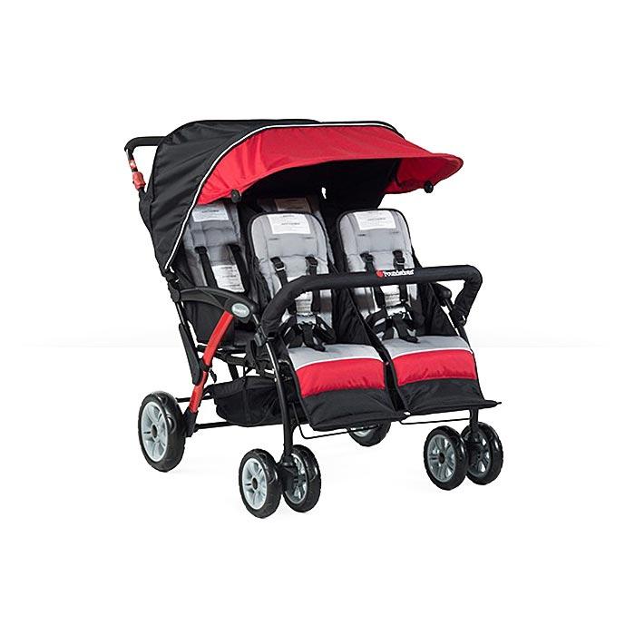 Foundations Quad Sport 4-Passenger stroller