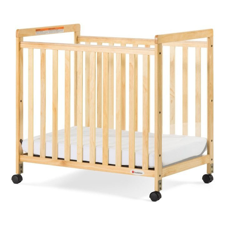 Foundations SafetyCraft Solid wood crib