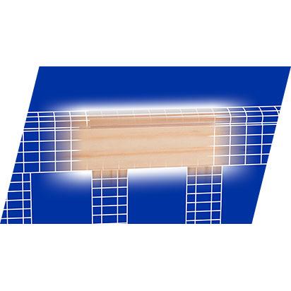 Advanced teething rail on Serenity crib