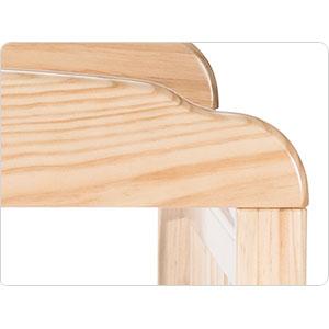 Mortise & tenon constructed headboard