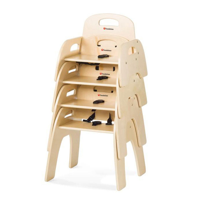 Simple sitter chair - Stackable up to 4 high