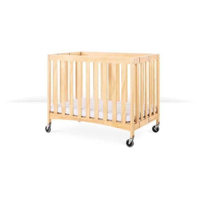 Foundations Travel Sleeper wood crib