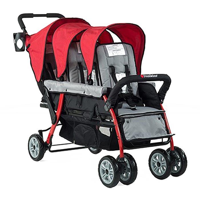 Foundations Trio Sport triple tandem stroller
