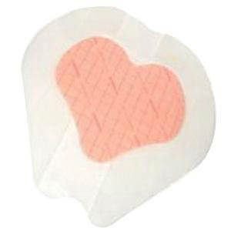 "PolyMem Shapes QuadraFoam Wound Dressing with Silver 7-1/5"" x 7-4/5"""