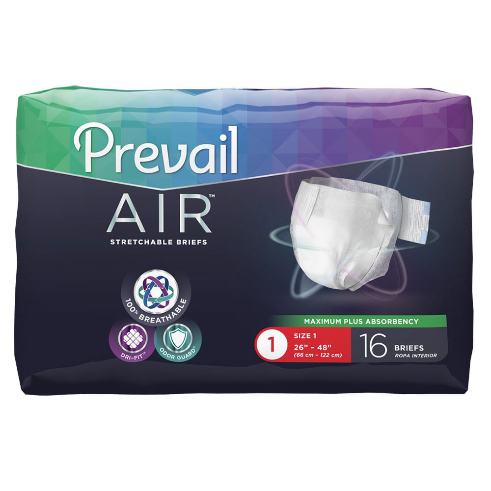 Prevail Air Stretchable Incontinence Brief