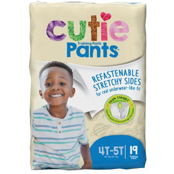 Cutie Pants Pull On Heavy Absorbency Toddler Training Pants, for boys, 4T-5T, Disposable