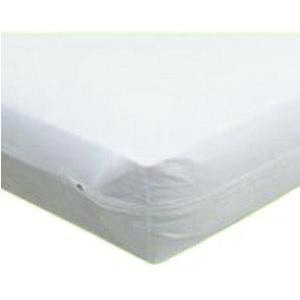 "Fiberlinks Textiles Waterproof Zippered Vinyl Mattress Protector, 78"" x 80"""