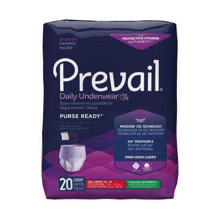 Prevail Moderate Absorbent Underwear