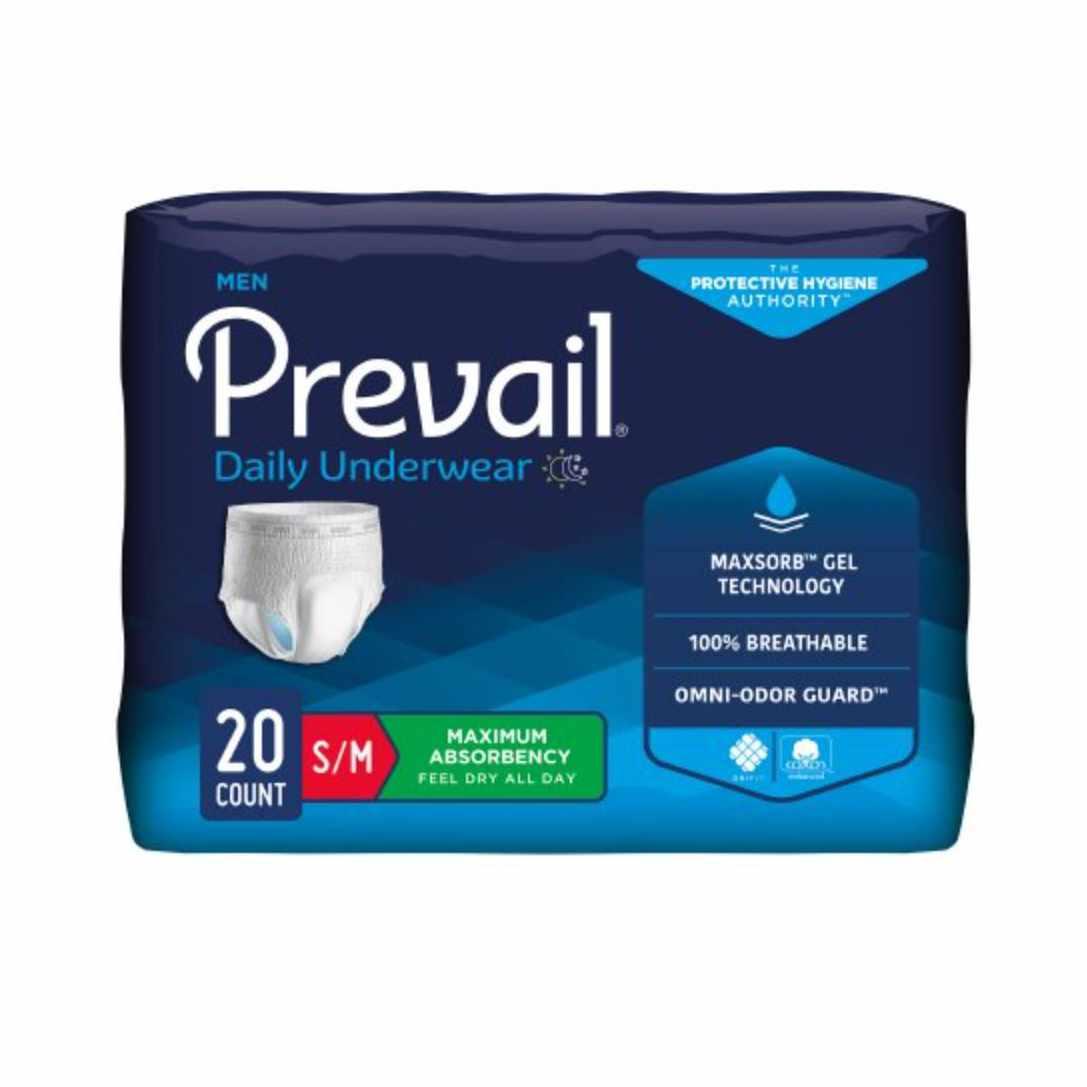 """Prevail Men's Underwear, Large/xL (38"""" to 64"""")"""