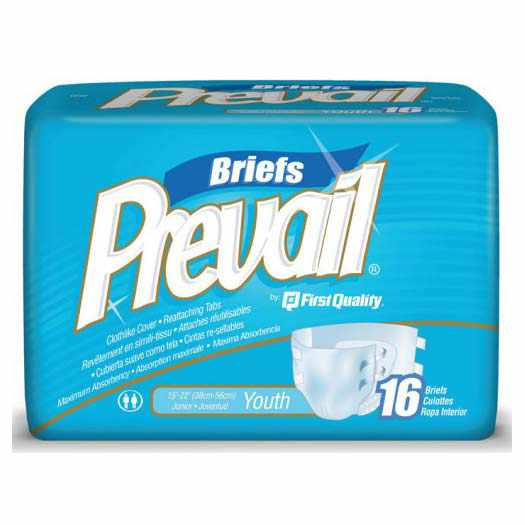 Prevail PM youth brief medium 15""