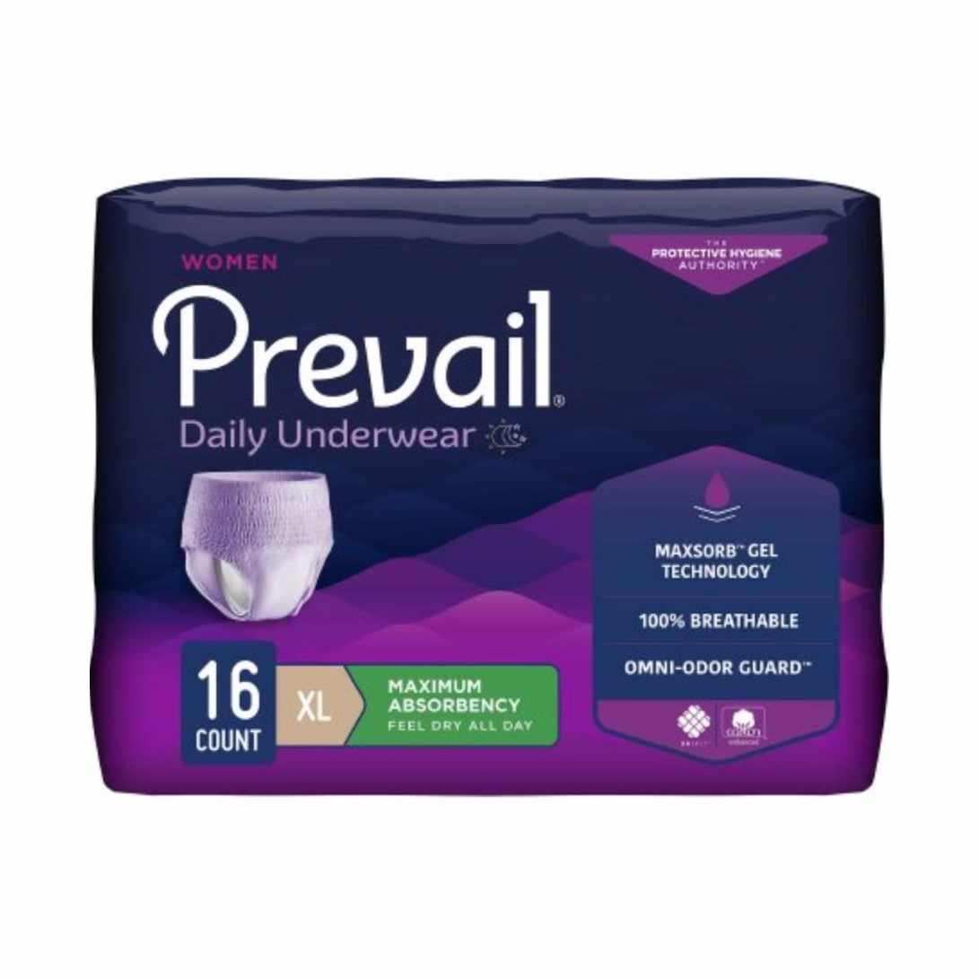 """Prevail Underwear for Women, xL (48"""" to 64"""")"""
