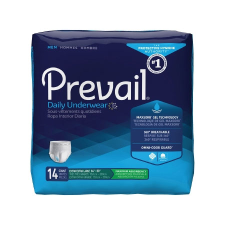 First Quality Prevail Heavy Absorbency Absorbent Underwear, 2X-Large