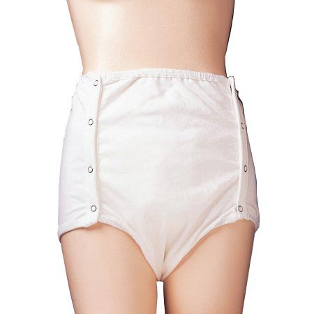First Quality Prevail Cotton Elastic Gathers Protective Underwear, X-Large