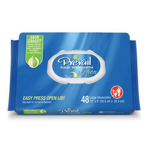 Prevail Soft Personal Wipe With Aloe and Vitamin E