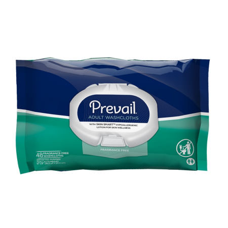 "Prevail premium cotton washcloth tub 12"" x 8"""