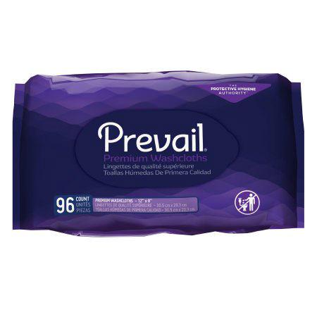 "Prevail Premium Cotton Washcloth-Refill, 12"" x 8"""