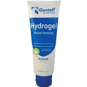 Gentell Hydrogel Wound Dressing, 4 oz Tube, Hydrating Gel