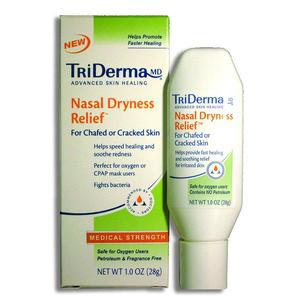 Genuine Virgin Aloe TriDerma Nasal Dryness Relief Gel