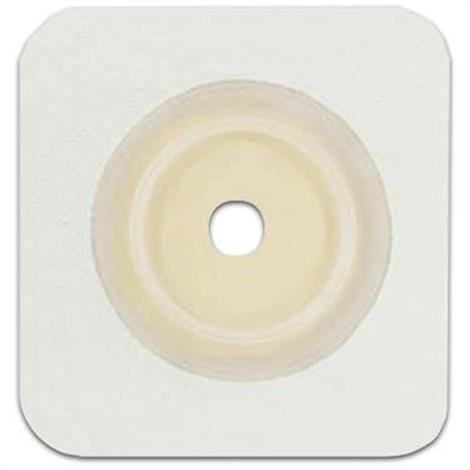 "Genairex Securi-T USA 2-Piece cut-fit Solid Hydrocolloid Wafer, 4"" x 4"", 1-3/4"" Flange"